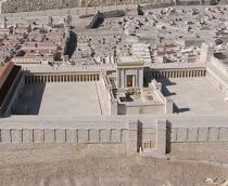 the temple of Herod, the second Jewish temple
